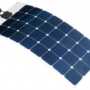 100w 12v Semi Flexible Solar Panel With Strong Self