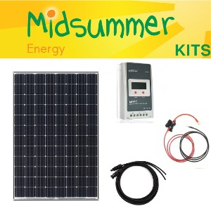 100w And 150w Motorhome Roof Top Solar Panel Kits Caravan Boat Barge Canal Alternative & Solar Energy Home & Garden